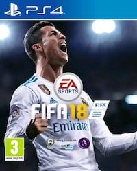 EA Sports FIFA 18 PS4 med fodral Huddinge, 141 47