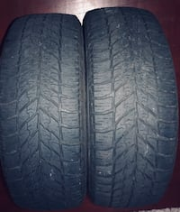 Ultra grab winter good year tires set of 2 245/55/19