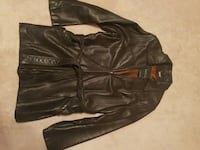 Danier womens leather car coat  Edmonton, T5Y 2P2