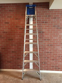 Ladder 8ft aluminum  Upper Marlboro, 20772