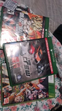 Xbox one game/Xbox 360 games