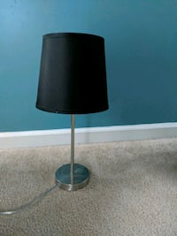 black and gray table lamp Middle River, 21220