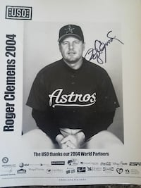 Autographed 8x10 roger clemins picture Omaha, 68114