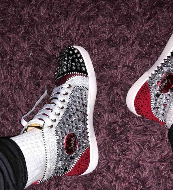 175a44f26cc7 Used Men s Red Bottoms men christian louboutin sneakers for sale in ...