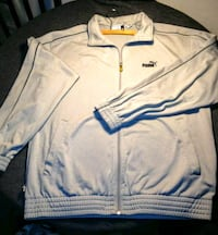 Puma Fleece grey Athletic Zip-up Track Jacket M   Vancouver, 98682