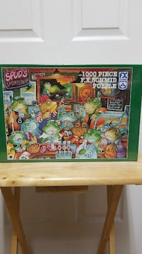 Puzzle 1000 pieces with frogs, new in box Mobile, 36695