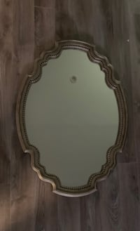 Silver/gold antique looking mirror Mississauga, L4Y 1N2