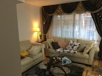 White and brown living room set Montreal, H4J 1G4