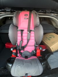 Britax Pioneer high back booster seat with seat protector