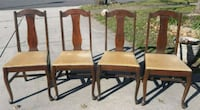 Vintage wooden dining chairs for sale Herndon, 20170