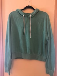 Teal pullover hoodie Tacoma, 98422