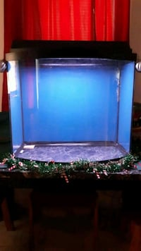 30 gallon bow front tank with hood and light 65obo Hagerstown, 21740