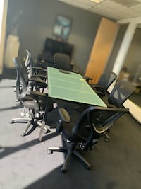 Conference table with chairs Los Angeles