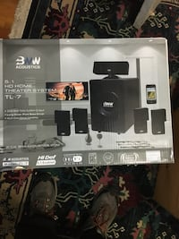 BNW  TL7. 5.1 Home theater system movie