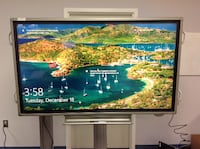 "Sharp PN-L702B Touchscreen Display 70"" Monitor Conference Classroom w/ Stand HYATTSVILLE"