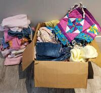 Box of Girls Infant to One Year Old Clothing St. Albert, T8N 4G6