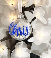 Personalized Christmas Ornaments & More!  Mississauga, L5N 6Z9