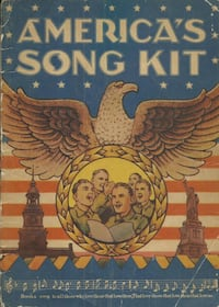 Vintage America's Song Kit Sheet Music  Treasure Chest Publications 19