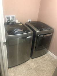 LG washer and dryer 794 mi