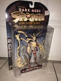 Dark ages spawn the epic saga of america #1 hero action figure package