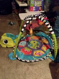 Turtle shaped infants play mat Frederick