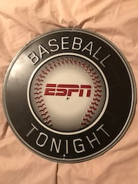 Baseball espn tonight signage/metal sign Omaha, 68114