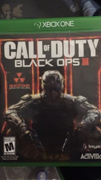 Call of Duty Black Ops 3 Xbox One game case St Catharines, L2P 3T8