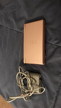 Metallic pink nintendo ds lite with brand new charger cord. Atlanta, 30340