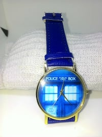Dr Who TARDIS Watch