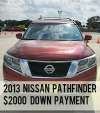 2013 Nissan Pathfinder $2000 Down payment Houston