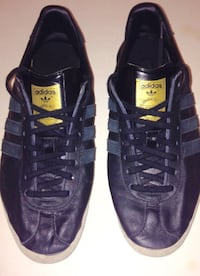 Adidas Gazelle OG Black Gold Metallic Mens Sz 9 London