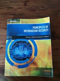 Principles of Information Security, 5th Ed Toronto, M5E 1Z9