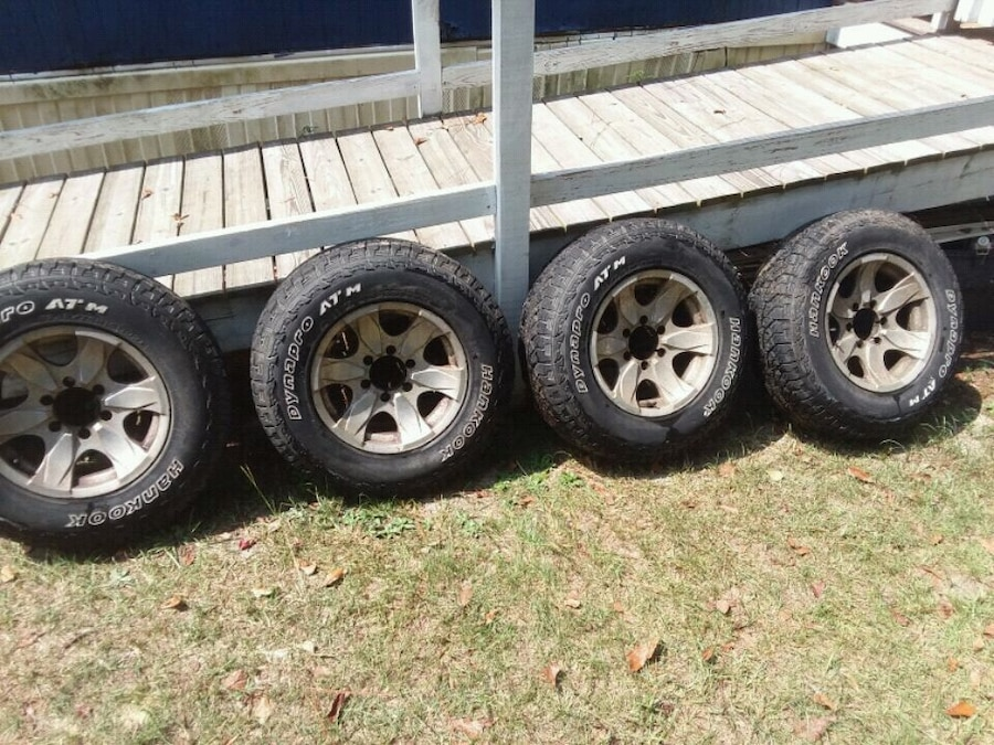 Photo Hankook Dynapro ATM 235/75/R16 Tires