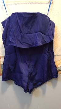 Royal Blue Romper (New) Severn, 21144
