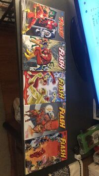 The Flash Geoff Johns Book 1-5 Centreville, 20120