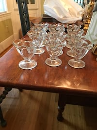 "12 4"" high sundae dishes. Excellent condition. Very cute Louisville, 40205"