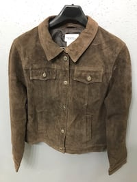 Brown suede leather Northern reflection jacket Houston, 77083