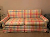 red, white, and green plaid loveseat Brooklet, 30415
