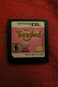 Tangled Nintendo ds game 1306 km