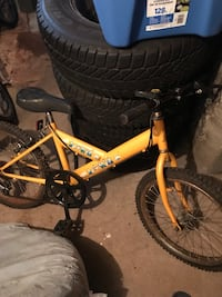 yellow and black hardtail bike Montréal, H4V 2J9