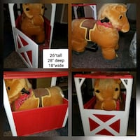 Ride on pony in barn new barely used 4time. Douglas County