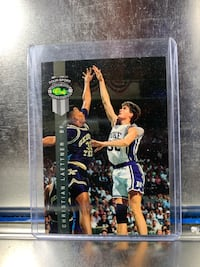 Chritian Laettner 1992 Classic Games Rookie Card