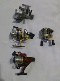two black and gray fishing reels Inverness, 34452