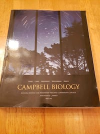 Campbell Biology 101 Textbook  McLean, 22101
