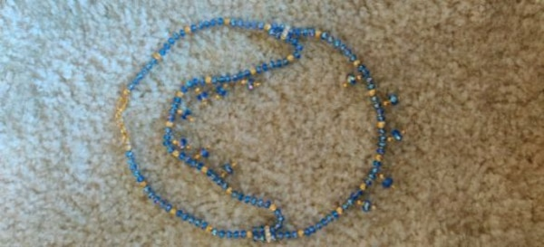 Crystal neck set two line neckless...... Crystal balls and gold balls. e8b04d18-3c70-4223-b90d-9a92e5f1c9c3