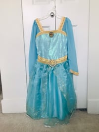 Disney Original Merida Gown Size 7-8 Surrey, V4N 4H4