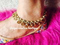 stone and pearls anklets  Edmonton, T6T 0M7