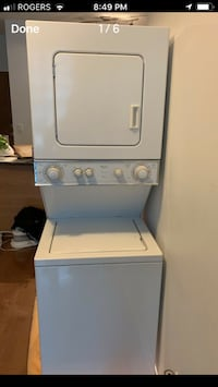 Stacked washer dryer Very good condition size 24 Toronto, M1L 1E3