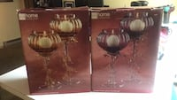 Two home candle holders boxes Victor, 14564