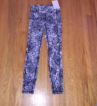 purple and black floral pants Washington, 20024